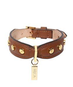 FRIDA FIRENZE | Medium Dog Studded Collar Leash
