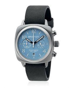 BRISTON | Clubmaster Chrono Steel Watch