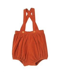 CARAMEL BABY AND CHILD   Cotton Corduroy Romper