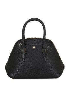 ETTORE BUGATTI COLLECTION | Small Lady Ostrich Top Handle Bag