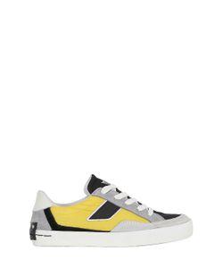 Crime | Neoprene Suede Sneakers