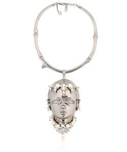 Schield | Swarovski Crystals Woodoo Necklace
