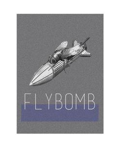 COSIMO VARDARO | Flybomb Poster