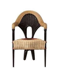 DRIADE | Liba Rattan Wooden Chair