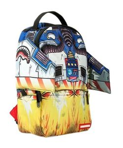 SPRAYGROUND | Rocketship Printed Nylon Backpack
