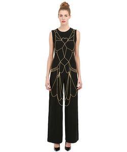 Seeme | Silver Gold Chain Body Harness