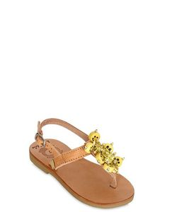 BONBON | Be Happy Leather Sandals