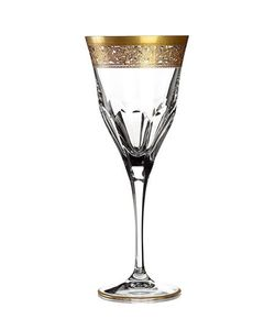 MARIO CIONI | Set Of 6 Crystal Water Glasses