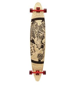 LONG DAYS LONGBOARDS | Dragon Handmade Wooden Longboard