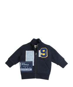 Diesel Kids | Cotton Blend Sweatshirt With Patches