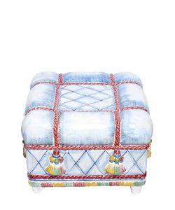 CERAMICHE PUGI | 1001 Nights Cushions Ceramic Ottoman