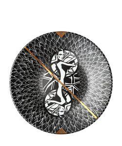 MAISON BY KHOL | The World Xxi Porcelain Plate