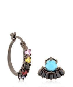 IOSSELLIANI | Mandala Hoop Stud Earrings