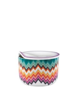 MISSONI BY RICHARD GINORI 1735 | Zig Zag Collection Porcelain Sugar Bowl