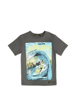 FINGER IN THE NOSE | Stormsurfer Print Cotton Jersey T-Shirt