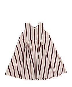 MARNI JUNIOR | Striped Cotton Poplin Dress