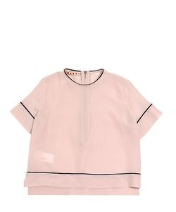 MARNI JUNIOR | Silk Crepe Shirt