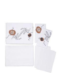 SANS TABÙ | Kiss Linen Sheet Set
