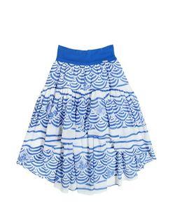 Junior Gaultier | Printed Cotton Voile Skirt