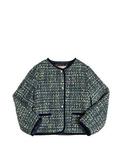 La Stupenderia   Lurex Jacquard Tweed Jacket