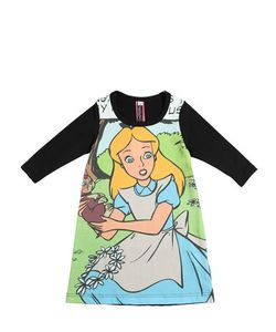 MUCHACHA | Alice In Wonderland Cotton Jersey Dress