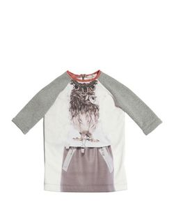 Venera Arapu | Cotton Printed Nylon Dress