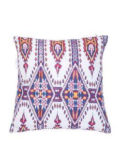 ADOLFO CARRARA | Agadir Printed Cotton Canvas Pillow