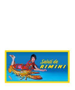 SELETTI WEARS TOILET PAPER | Lobster Cotton Microfiber Beach Towel