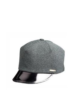 SUPERDUPER | Glittered Faux Leather Hat