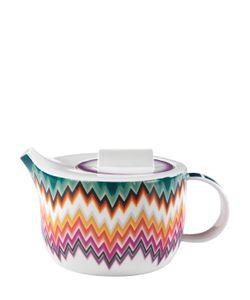 MISSONI BY RICHARD GINORI 1735 | Zig Zag Collection Porcelain Tea Pot