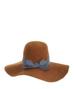 PATRIZIA FABRI | Lapin Fur Felt Wide Brim Hat