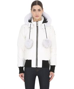 Moose Knuckles | Debbie Down Bomber Jacket W/Fur