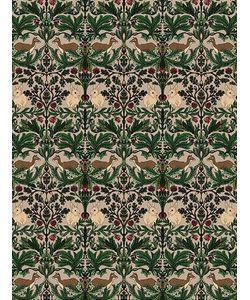 SILKEN FAVOURS   Deer Forest Wallpaper
