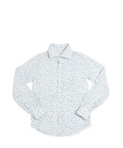 NUPKEET | Floral Printed Cotton Poplin Shirt