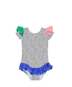 BANGBANG COPENHAGEN | Polka Dot Printed Jersey Bodysuit