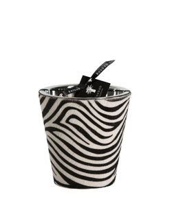 BAOBAB COLLECTION | Zebra Printed Ponyskin Maxi Max Candle