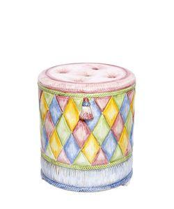 CERAMICHE PUGI | 1001 Nights Ceramic Ottoman