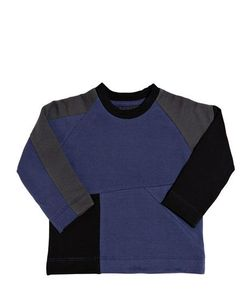 New Generals | Tricolour Organic Jersey Sweatshirt