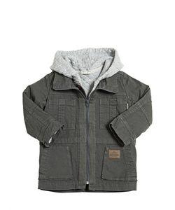 STICKY-FUDGE | Organic Cotton Gabardine Quilted Coats