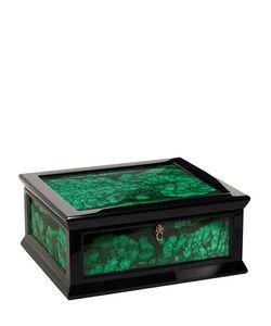 AGRESTI | Malachite Wood Jewelry Box