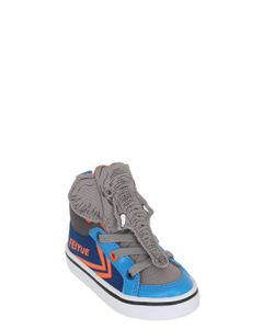 Feiyue | Elephant Cotton Canvas High Top Sneakers