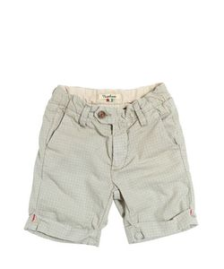NUPKEET | Washed Printed Cotton Shorts