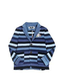 TAGLIATORE JUNIOR | Striped Cotton Jacket
