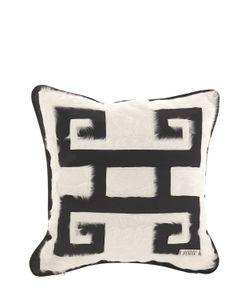 GIANFRANCO FERRÉ HOME | Greca Negativo Decorative Pillow