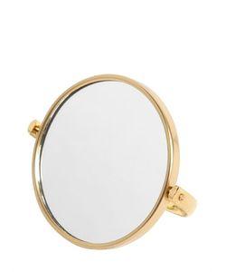 LARUSMIANI | Lorenzi Round Mirror With Stand