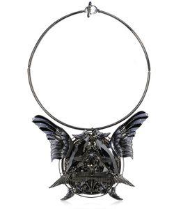 HEAVEN TANUDIREDJA | Round Wings Medallion