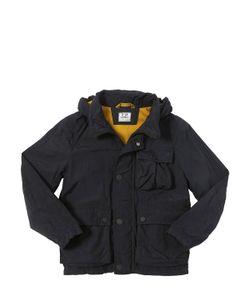 C.P.COMPANY UNDERSIXTEEN   Wrinkled Nylon Jacket With Goggles