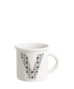 ILARIA.I | Letter V Porcelain Mug