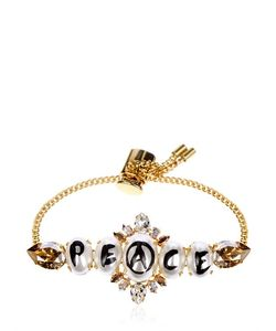 BIJOUX DE FAMILLE | Peace Pearl Mini Chain Bracelet