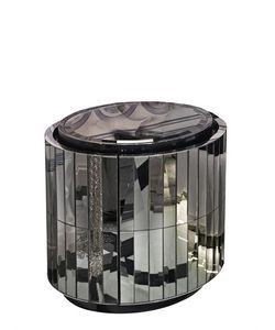 Vision Air | Vaslav Mirrored Bedside Table